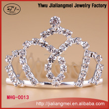 Fashion crystal tiaras beauty pageant crowns
