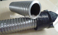 Self-drilling hollow rock anchor bolt
