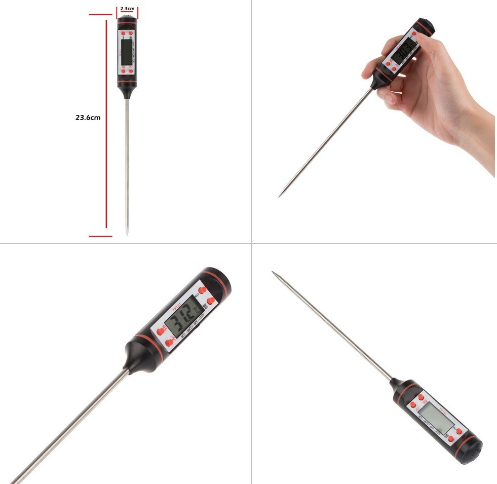Household Kitchen Thermometers Type and Digital Thermometer BBQ grill digital thermometer probe