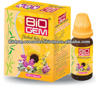 Bio Gem Herbal Skin Lotion for Eczema / Psoriasis OEM welcome