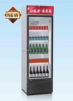 vertical freezer showcase 218L
