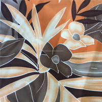 Polyester Satin Peach Skin Digital Print Fabric for Brand Garments