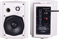 "HYB106-5ABT+HYB106-5,5.25"" 20W Active Bluetooth Stereo Wireless Wall Mount Speakers"