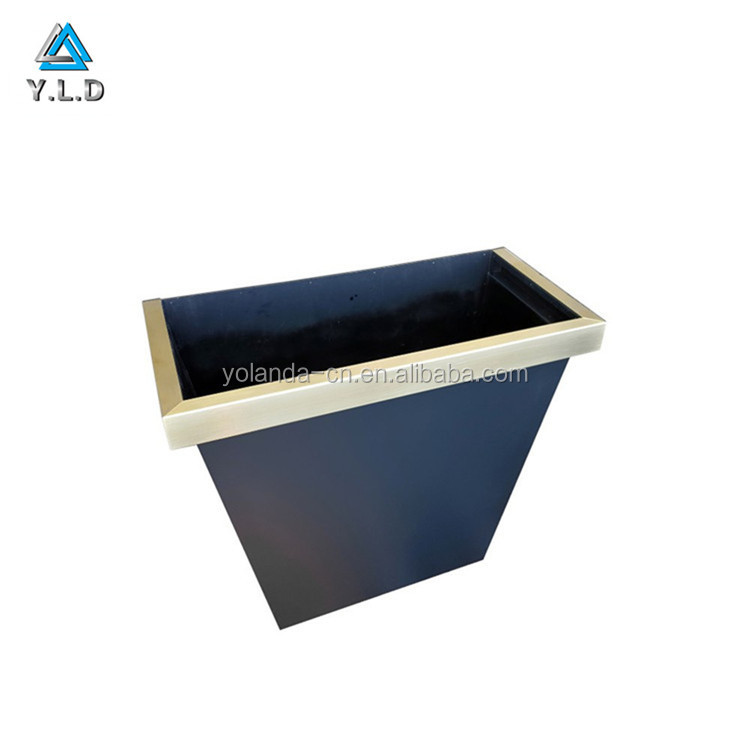 Custom Made Black Steel Powder Coating Hood Vents For Kitchen Decoration