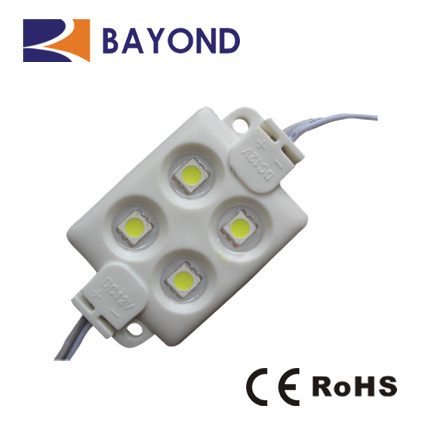 DC12V pure white injection SMD 5050 LED <strong>Module</strong> 4 leds for sign box