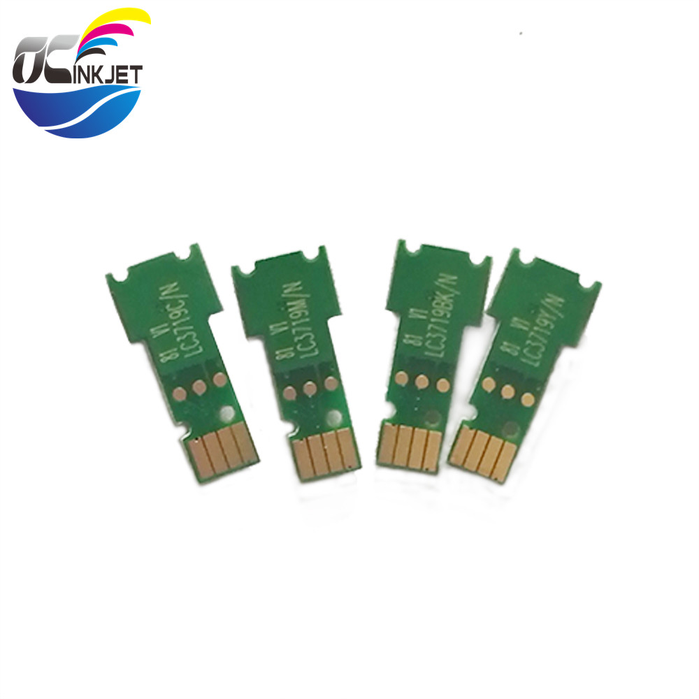 Ocinkjet 4Colors/Set LC3111/LC3213/LC3719 Cartridge One Time <strong>Chip</strong> For Brother A3 A4 Printer