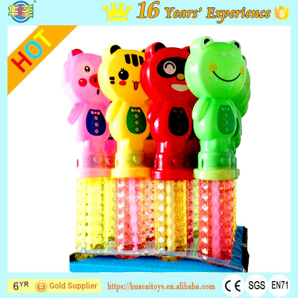 Wholesale All Kids Love Big Lovely Animal Bubble Wands with PET Plastic Type