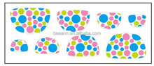Beeann new designed PET Material nail stickers