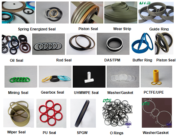 UNS/UHS/UN Rubber Ring,Blue,Yellow,Green PU Polyurethane Seals(id ...