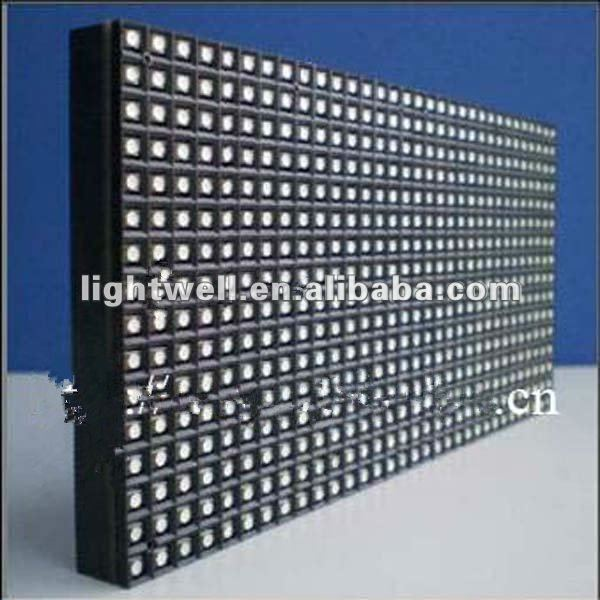 High Resolution 16x32 Pixels P6mm SMD RGB Outdoor LED Matrix Display Module for 3-in-1