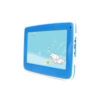 Cute plastic cover android 4.4/5.1 tablet pc 7 inch for children use