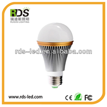 RA80 550LM high brightness 7w led globe bulb e27 120mm