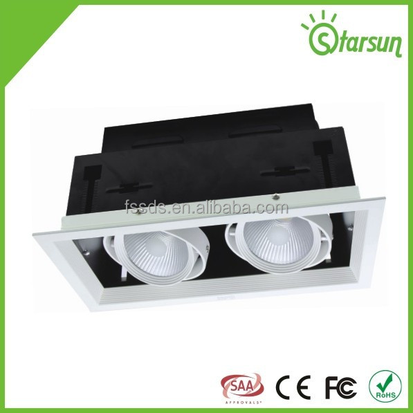EMC CE SAA certificate COB led grille light