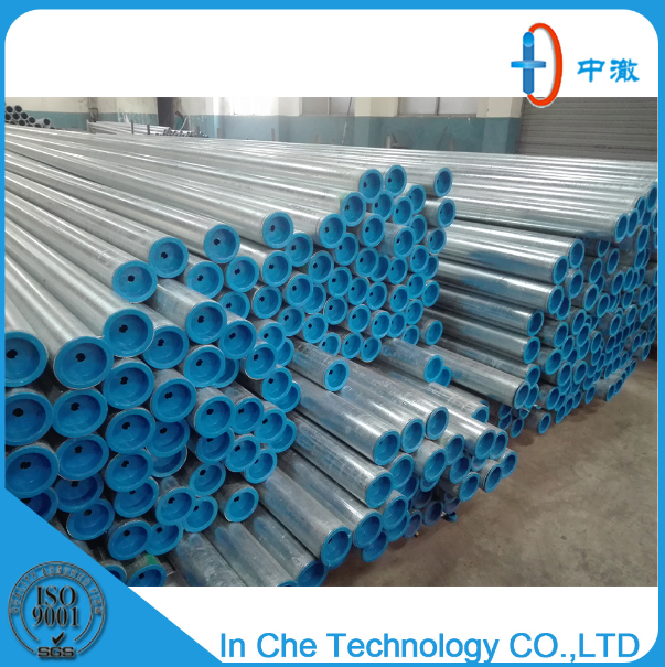 Steel plastic composite pipe for water supply of green building