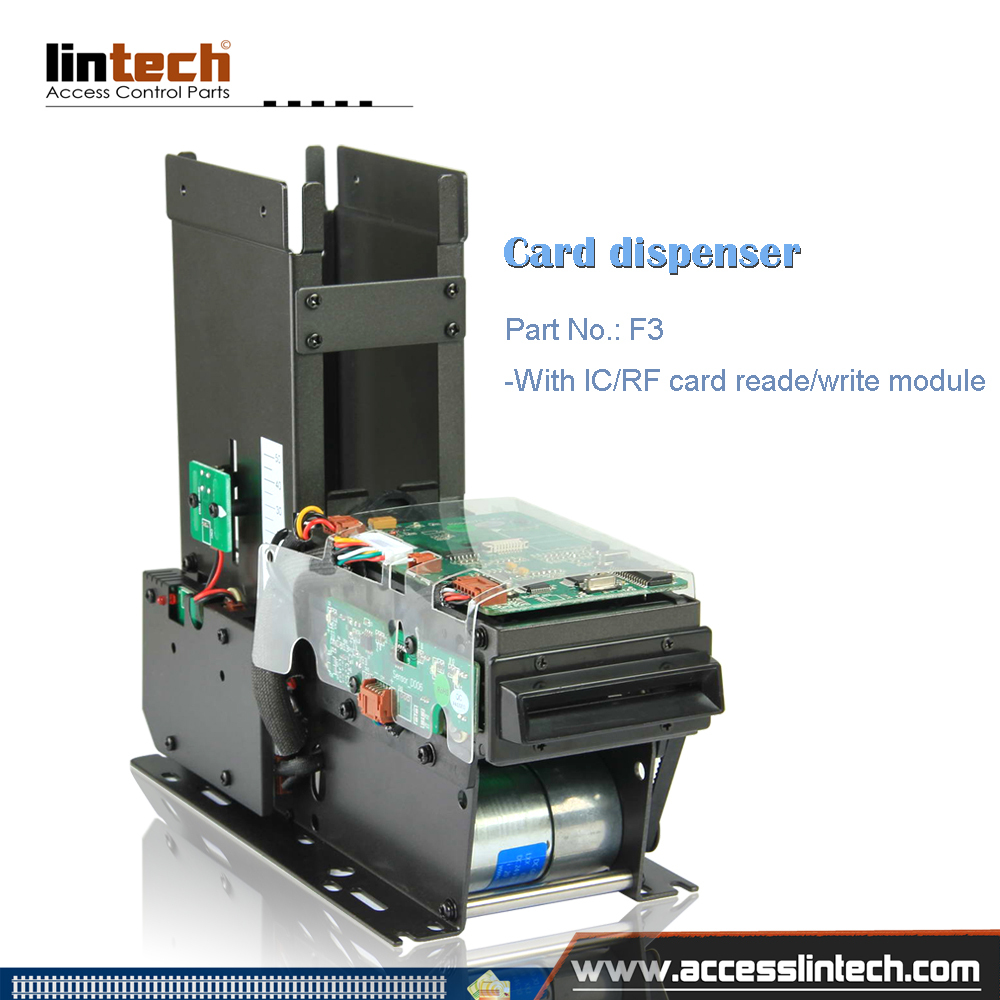 Automatic Card Reader ~ Automatic rfid card dispenser collector with reader writer