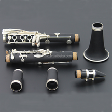 ABS Silver Black Bb Clarinet