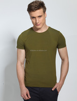 Alibaba china supplier cotton spandex blended o neck t shirt cheap slim fit t shirt manufacturer