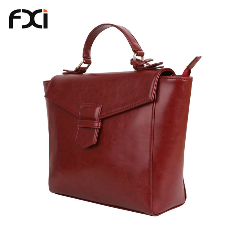 2015 women fashion red designer handbags retro ladies PU leather bags vintage tote bags carteras mujer hobo bag bolso desigual