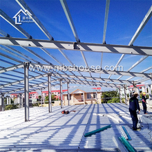 Large span prefabricated steel structure warehouse steel structure workshop one stop construction products factory supplier