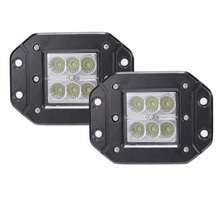 "24V 3"" 18W Flood Light Led Pods Offroad Rear Fog Driving Lamp For Pick Up, Jeep, Trucks, Tractors, 4wd vehicle"