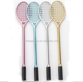 student sport gift stationery long racket shape ballpoint pen