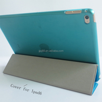 Magnetic PU leather Stand Flip for ipad 6 wholesale