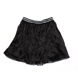 Chinese child clothing moderate thickness polyester fabric latest design 7-10years girls skirt
