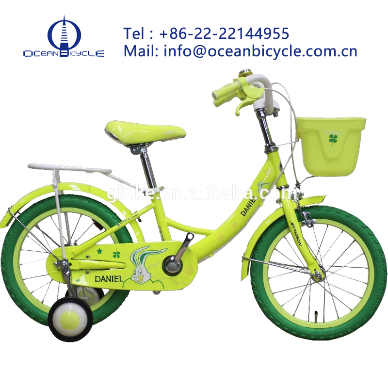 high end beautiful 16 size kids bike for 5-10 years old kids