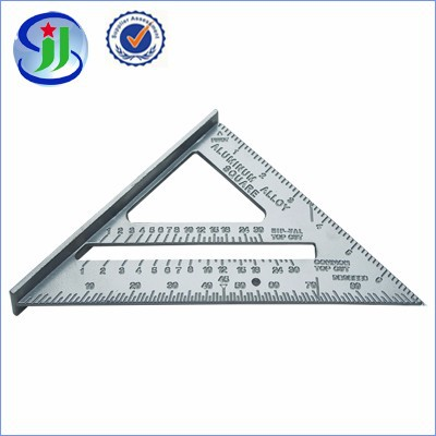 high quality drawing ruler aluminium triangular scale ruler