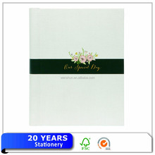 Full Color Printed Latest Wedding Photo Book Album Design