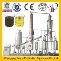 separating moisture completely and double control system oil refining plant