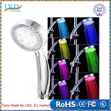 Temperature Controlled LED Color Changing Shower Head for Kitchen Bathroom