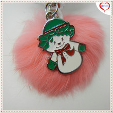 Advertizing giveaway Rhinestone key chain angel