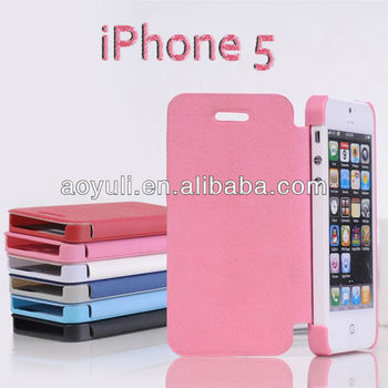 "hot selling wallet case for iphone 5, for iphone 5"" case, mobile phone case"