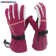 Rechargeable Battery Electric Hand Warmer Safe Heated Gloves