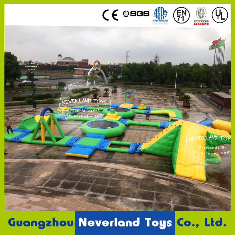 inflatable aquapark for sale / water aqua park / inflatable compete aquapark