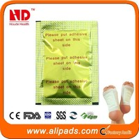 Chine Supplier Wood Vinegar Gold Relax Foot Patch