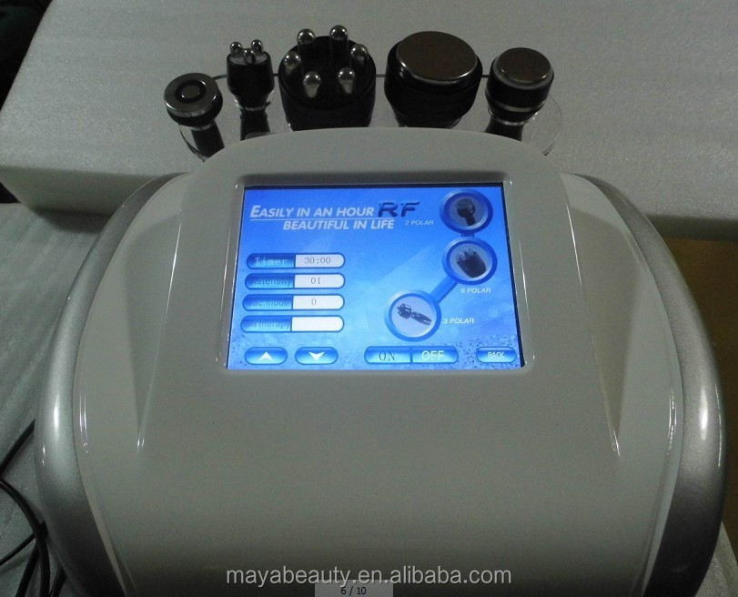2015 Newly 5 in 1portable ultrasonic vacuum cavitation slimming machines/slimming machine power shape