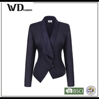 China supplier women fancy blazer, latest blazer design