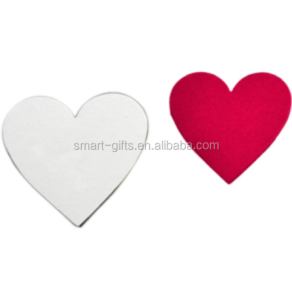 Promotional custom heart shape fridge magnet for gifts
