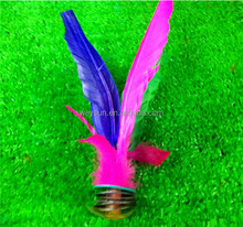 Kick Feather Shuttlecocks Badminton Original China Jianzi Shuttlecock DHL Freeshipping