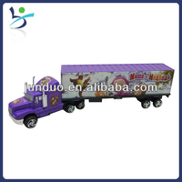long candy truck,fun plastic toy for child