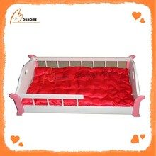 Rectangular cute new high quality wood pet bed