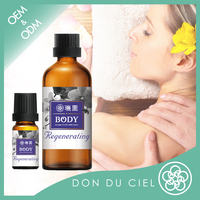 Top taiwan skin care product regenerating massage sexy body oil