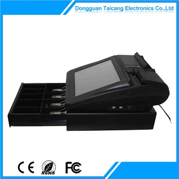 Special new arrival 12 inch pos system billing machine for hotels