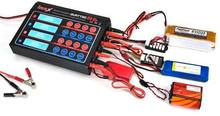 IMAX Quattro b6 Multicharger Multi Charger with the best factory price rc car battery charger