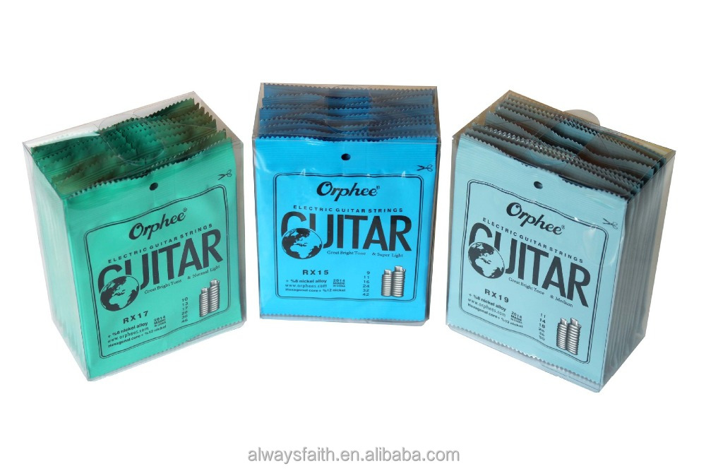Wholesale high quality Orphee electric guitar strings