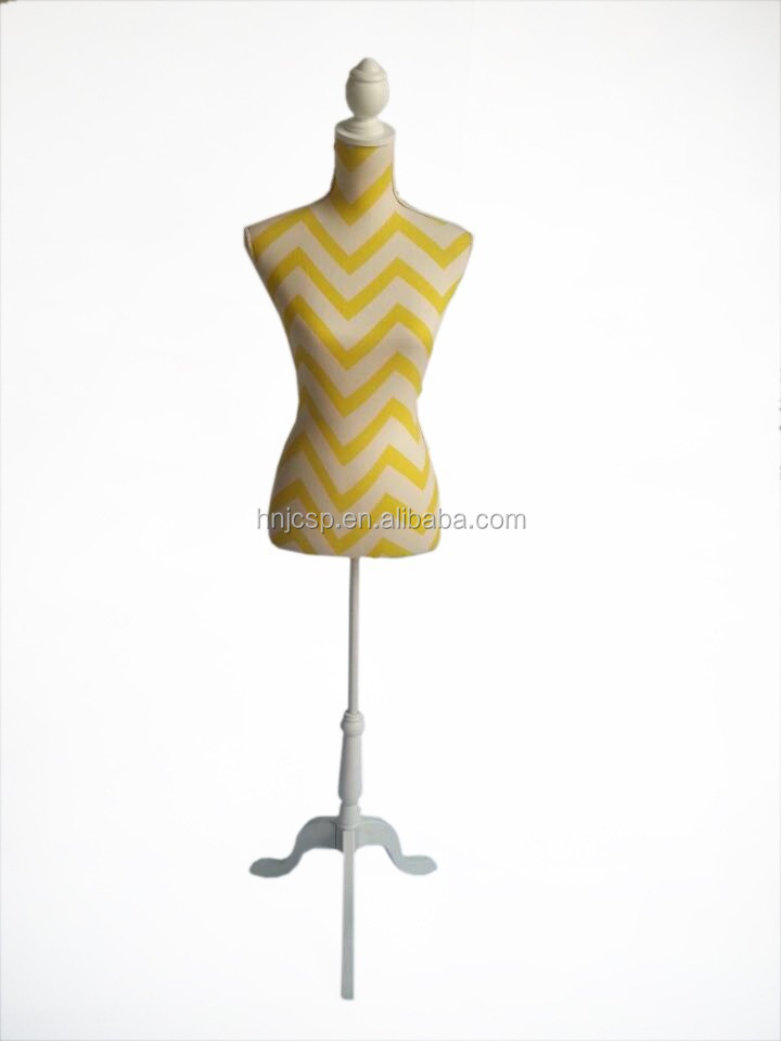 Fabric dress form female mannequin