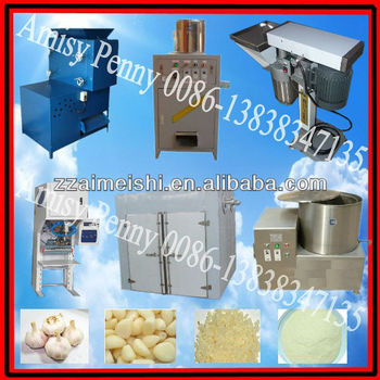 0132 hot sale garlic processing machine/dry type garlic peeling machine and garlic drying machine/ TEL 0086-13838347135
