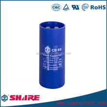 CD60 Capacitor 500 microfarad capacitor with cable
